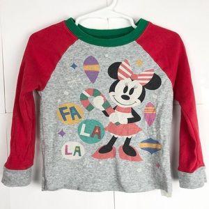 Disney Minnie Mouse Vintage Style Christmas Shirt